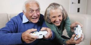 Les séniors se mettent aux jeux vidéos
