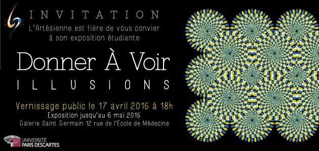 """INVITATION - VERNISSAGE de l'exposition """"DONNER A VOIR"""""""