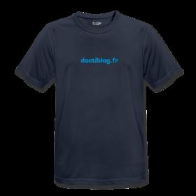 Tshirt Running Doctiblog.fr - Face avant