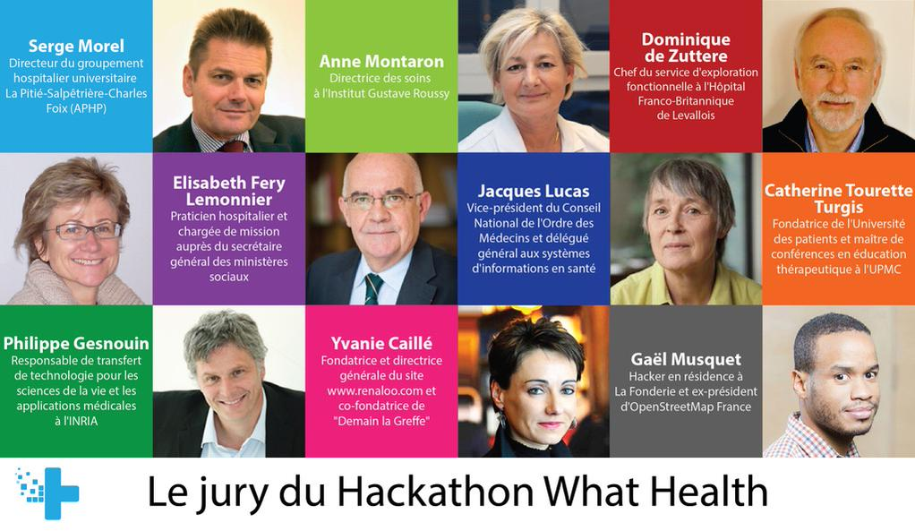 JURY HACKATHON WHAT HEALTH 2015